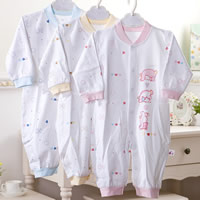 Cotton & Bamboo Fiber Multifunction Baby Jumpers, unisex & breathable, printed, Cartoon, more colors for choice, Sold By PC