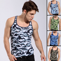Modal Men Athletic Tank, different size for choice & breathable, camouflage, more colors for choice, Sold By PC