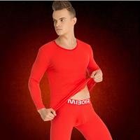 Cotton Men Thermal Underwear Sets Solid
