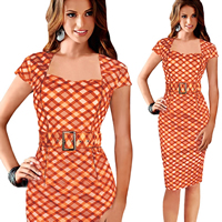Polyester Sexy Package Hip Dresses different styles for choice   above knee Sold By PC