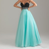 Chiffon   Cotton Long Evening Dress backless off shoulder   floor-length   wrapped chest iron-on patchwork