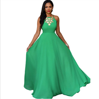 Spandex   Polyester Long Evening Dress backless   off shoulder Solid Size:Free Size