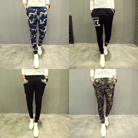 Acrylic & Cotton Men Casual Pants, different size for choice, different color and pattern for choice, Sold By PC