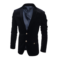 Corduroy Men Leisure Suit, different size for choice, Solid, more colors for choice, Sold By PC