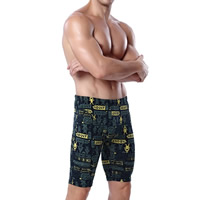 Spandex & Polyester Swimming Pants printed different color and pattern for choice Sold By PC