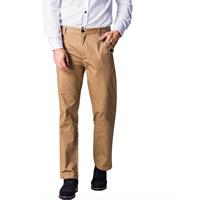 Cotton Middle Waist Men Casual Pants Solid