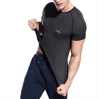 Spandex Men Quick Dry Tops, different size for choice, patchwork, more colors for choice, Sold By PC