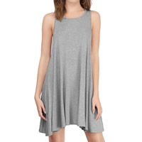 Modal One-piece Dress, different size for choice, Solid, more colors for choice, Sold By PC