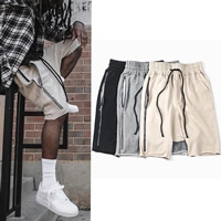 Cotton Men Capri Pants, different size for choice & loose, Solid, more colors for choice, Sold By PC