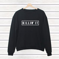 Cotton Women Sweatshirts, different size for choice, printed, letter, more colors for choice, Sold By PC