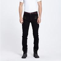 Denim Men Jeans patchwork