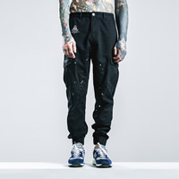 Polyester & Cotton Men Casual Pants, different size for choice, printed, letter, more colors for choice, Sold By PC