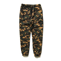Cotton Men Casual Pants, different size for choice, printed, camouflage, army green, Sold By PC