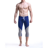 Nylon Men Sports Pants, different size for choice, patchwork, more colors for choice, Sold By PC