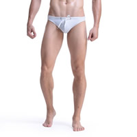 Nylon Hip-hugger Men Swimming Brief Solid Sold By PC