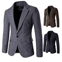 Polyester & Cotton Men Leisure Suit, different size for choice & regular, Solid, more colors for choice, Sold By PC