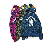Cotton Men Baseball Jacket loose printed letter Sold By PC