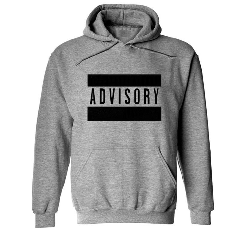 Cotton Men Sweatshirts printed letter Sold By PC