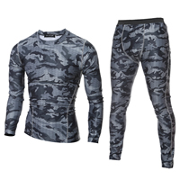 Cotton Men Quick Dry Clothing Set, different styles for choice, Pants & top, printed, camouflage, more colors for choice, Sold By Set