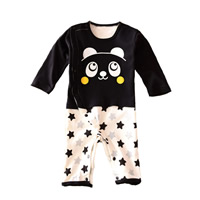 Cotton Baby Jumpers, different size for choice, printed, Cartoon, white and black, Sold By PC