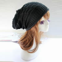 Woolen Knitted Hat, knitted, Solid, more colors for choice, Size:Free Size, Sold By PC