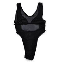 Nylon & Polyester Monokini, different size for choice & transparent, with Gauze, patchwork, more colors for choice, Sold By PC