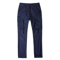 Cotton Men Casual Pants plain dyed Solid