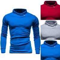 Cotton Men Sweatshirts plain dyed Solid Sold By PC
