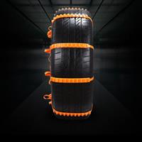 Nylon Cadenas de neumáticos, Sólido, naranja rojizo, 10PC/Mucho,  Mucho