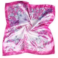 Satin Silk Scarf imitation silk printed Sold By PC