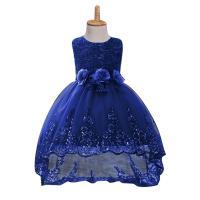Gaas & Katoen Meisje Eendelige jurk Polyester Lappendeken Solide meer kleuren naar keuze stuk
