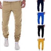 Poliéster & Algodón Pantalones Hombre Lápiz, Sólido, más colores para elegir,  trozo