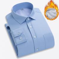 Katoen Mannen long sleeve casual shirts Striped stuk