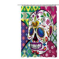 Polyester Duschvorhang, Gedruckt, unterschiedliches Muster zur Auswahl,  Stück