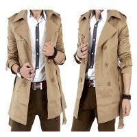 Gemischter Stoff Männer Trenchcoat, Solide, mehr Farben zur Auswahl,  Stück