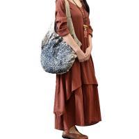 Tela de algodón & Acrílico & Línea Vestido de una pieza, Sólido, más colores para elegir,  trozo