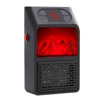 ABS Plastic Mini Warm-air Machine European Standard & Three-speed adjustment black Sold By PC