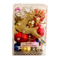 Plastic Kerst decoratie ballen meer kleuren naar keuze Vak