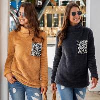 Poliéster Mujeres Sudaderas, leopardo, más colores para elegir,  trozo