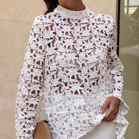 Poliéster & Algodón Vestido de una pieza, blanco,  trozo
