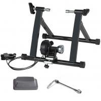 Stahl & Aluminium & Kunststoff Indoor Fahrradtrainer, Schwarz,  Stück