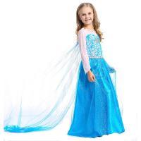 Nylon & Spandex Children Princess Costume & for girl patchwork PC