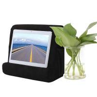 Polyester Stoffen Cellphone Pad Compter Houder Elastische spons Solide Zwarte stuk