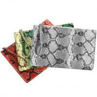 PU Leder & Polyester Clutch Bag, Schlangenhautmuster, mehr Farben zur Auswahl,  Stück